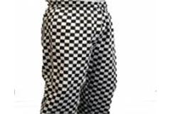 chefs trousers checkered