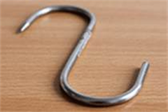 a single meat hook