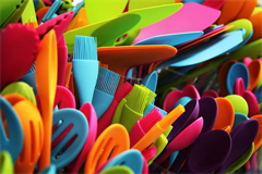 a wide variety of silicone utensils