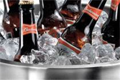 wine cooling buckets with ice in