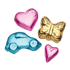sweetly does it metallic foil wraps for chocolates