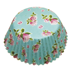 Vintage Cupcake Cases small, 4.5cm, pk100