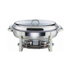 Stainless Steel Oval Chafing Set