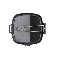 Square Grill Plate 25cm