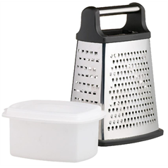 S/S 23cm Four Sided Box Grater