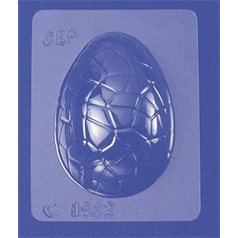 easter egg half mould, 8.9cm / 3.5""