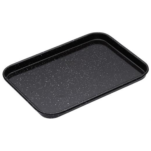 vitreous enamel baking tray 23cm x 18cm dentons. Black Bedroom Furniture Sets. Home Design Ideas