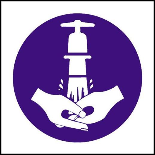 Hand Wash Symbol Dentons