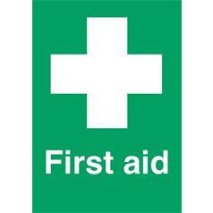 First Aid With Symbol