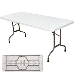 Foldaway 6ft (1.8m) Rectangle Utility Table