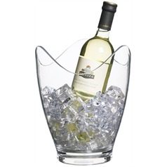 Clear Acrylic Drinks Pail / Wine Bucket