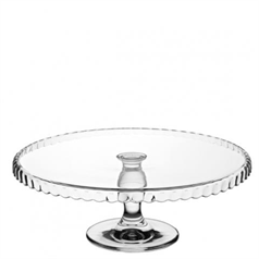 Patisserie Downturn Footed Plate 32cm/12.5
