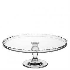 Patisserie Upturn Footed Plate 32cm/12.5