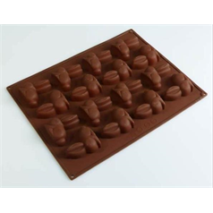 16 cell silicone bunny shaped chocolate mould