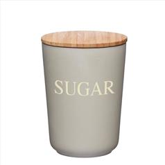 KitchenCraft Natural Elements Bamboo Fibre Sugar Canister