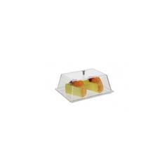 Rectangular Cake Display Box with Lid 88 x 240 x 183 (mm)