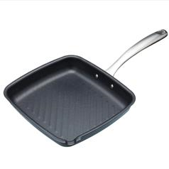 MasterClass Induction Ready Non-Stick Grill Pan 26cm