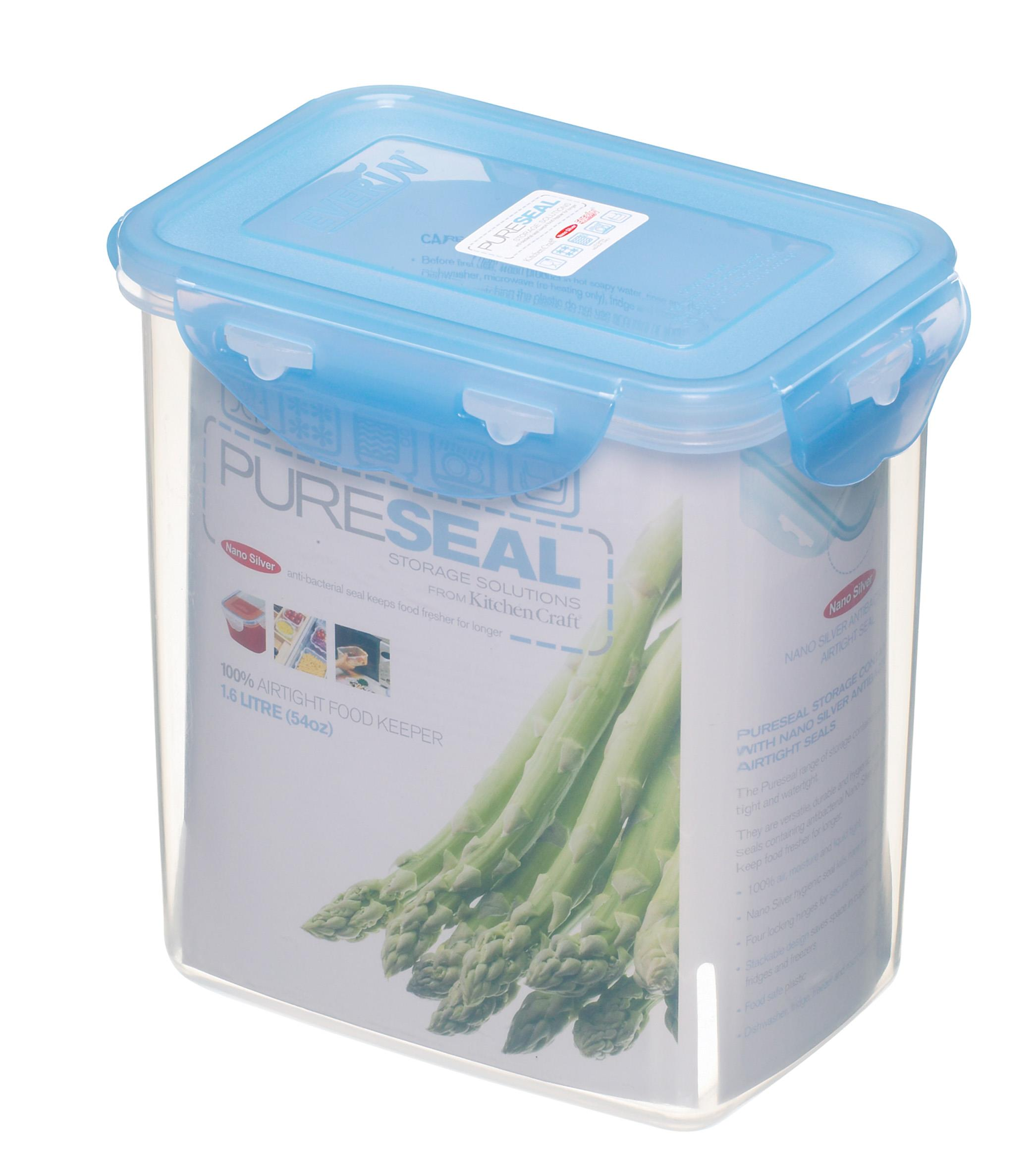Pure Seal Rectangular 16 Litres Storage Container Dentons