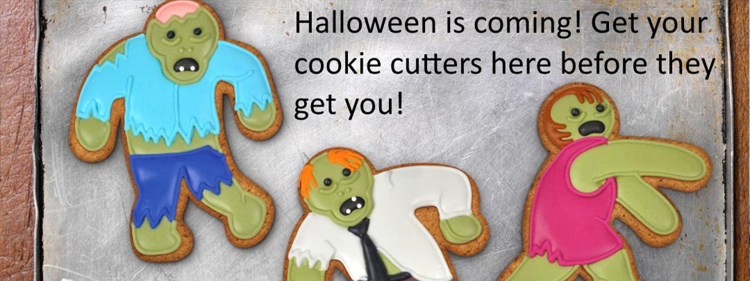 halloween zombie cookie cutters
