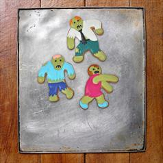 Undead cookie cutters - set of 3