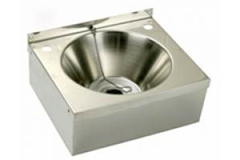 stainless steel basin