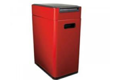 large red bin