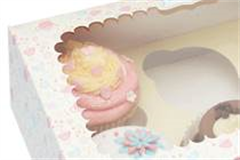 cake box with cakes inside