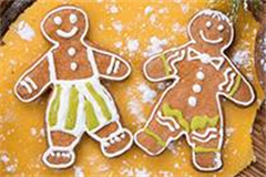 two ginger bread men