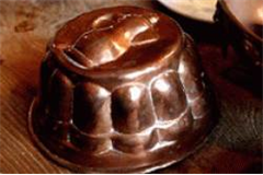 large bronze jelly mould