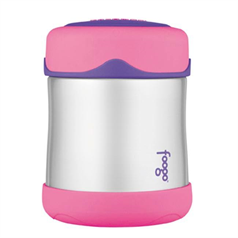 Foogo Flask - 290ml Pink Food Flask