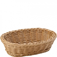 caramel oval basket 23cm/9 inches