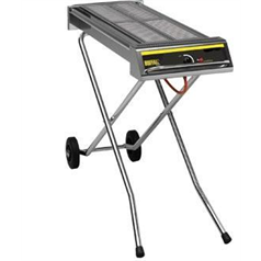 large folding gas barbecue