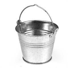 Stainless Steel Presentation Bucket 12x10x12cm