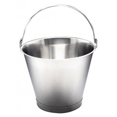 Stainless Steel Bucket Without Foot