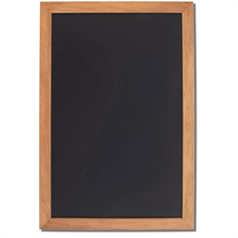 "Framed Black Boards 600 x 900mm/24"" x 36"""