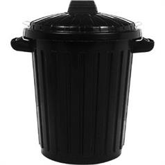 Black Dustbin