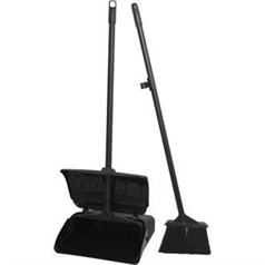 Lobby Dustpan and Broom