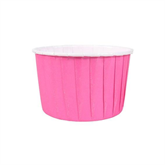 Hot Pink Baking Cups 24 pk 60mm