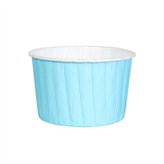 Blue Baking Cups 24 pk 60mm