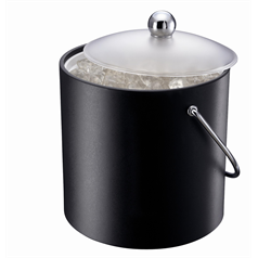 Insulated Black Ice Bucket 3.0L