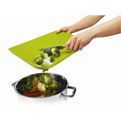 Straight to Pan Chopping Board with Hole