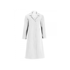 White Womens Hygiene Coat - 100cm