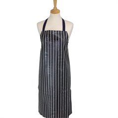 Striped Butchers PVC Apron