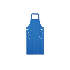 Twin Striped Bib Apron - Blue/White