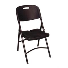 Foldaway Utility Chair Black Chair