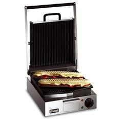 Lincat Lynx Single Contact Grill Ribbed Top and Bottom