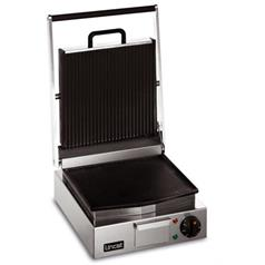 Lincat Lynx Single Contact Grill Ribbed Top / Smooth Bottom