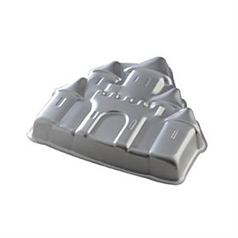 aluminium castle cake mould