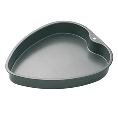 non-stick heart cake pan 29x25cm