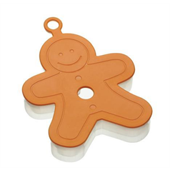 3d gingerbread man cookie cutter